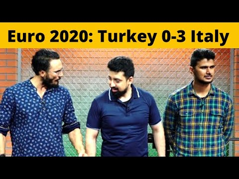 The Latest: Italy opens Euro 2020 with 3-0 win over Turkey