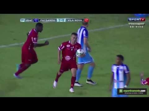 Paysandu 2x2 Vila Nova - Gols (30.07.2016) - Série B