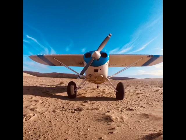 Flying the Kobuk Sand Dunes, Alaska
