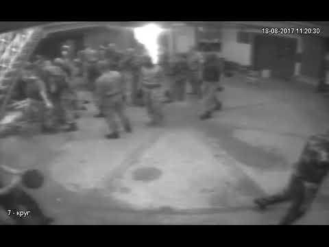 Избиение заключенных видео