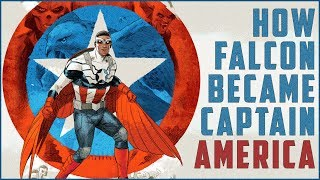 How Falcon Became Captain America In Comics