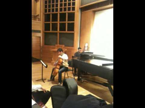 Carl Laventure and Jungbin Kim perform Fauré's Elegie in C Minor, op. 24 mp3