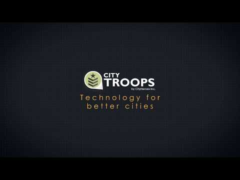 CityTroops. Better manage your teams, assets and information on the ground.