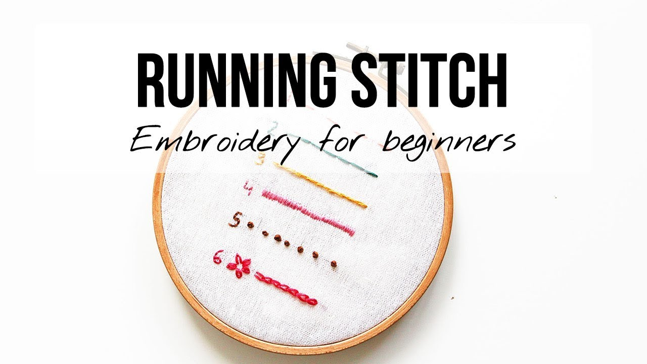 Tata Sol | 6 Basic Embroidery Stitches For Beginners
