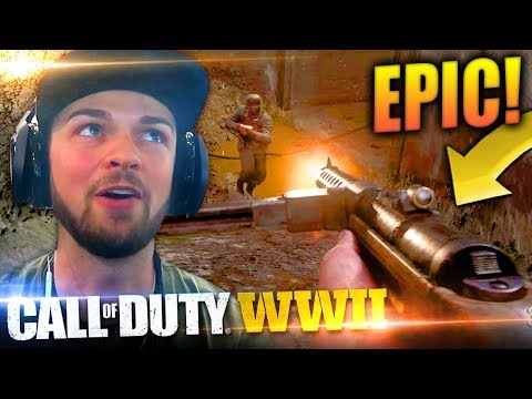 THIS GUN IS AMAZING! - Call of Duty: WW2 *LIVE* w/ Ali-A!
