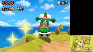 [TAS] Super Mario 64 DS - 100 Coins & Find the 8 Red Coins (Yoshi) in 1:02.83