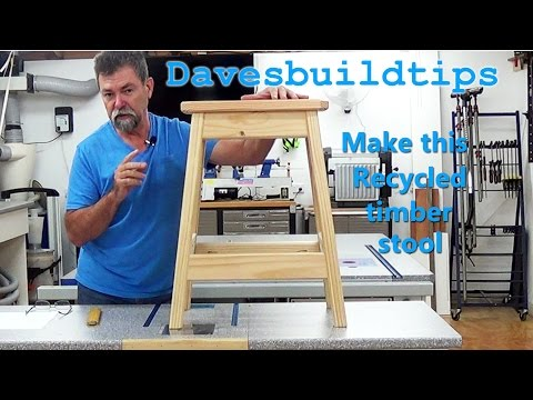 how to | timber stool | dave stanton |  woodworking | kreg pocket hole |