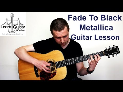 Metallica - Fade To Black - Guitar Lesson - Drue James - Part 1