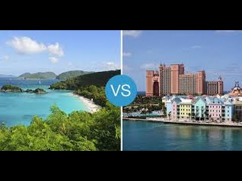 Difference Between Caribbean and Bahamas