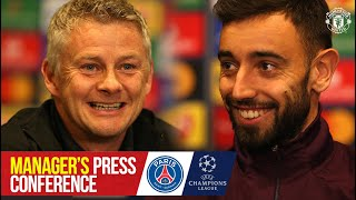 Bruno to captain United in Paris | Press Conference | PSG v Manchester United