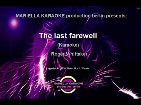 Roger WhittakerThe Last Farewell (Karaoke Version)