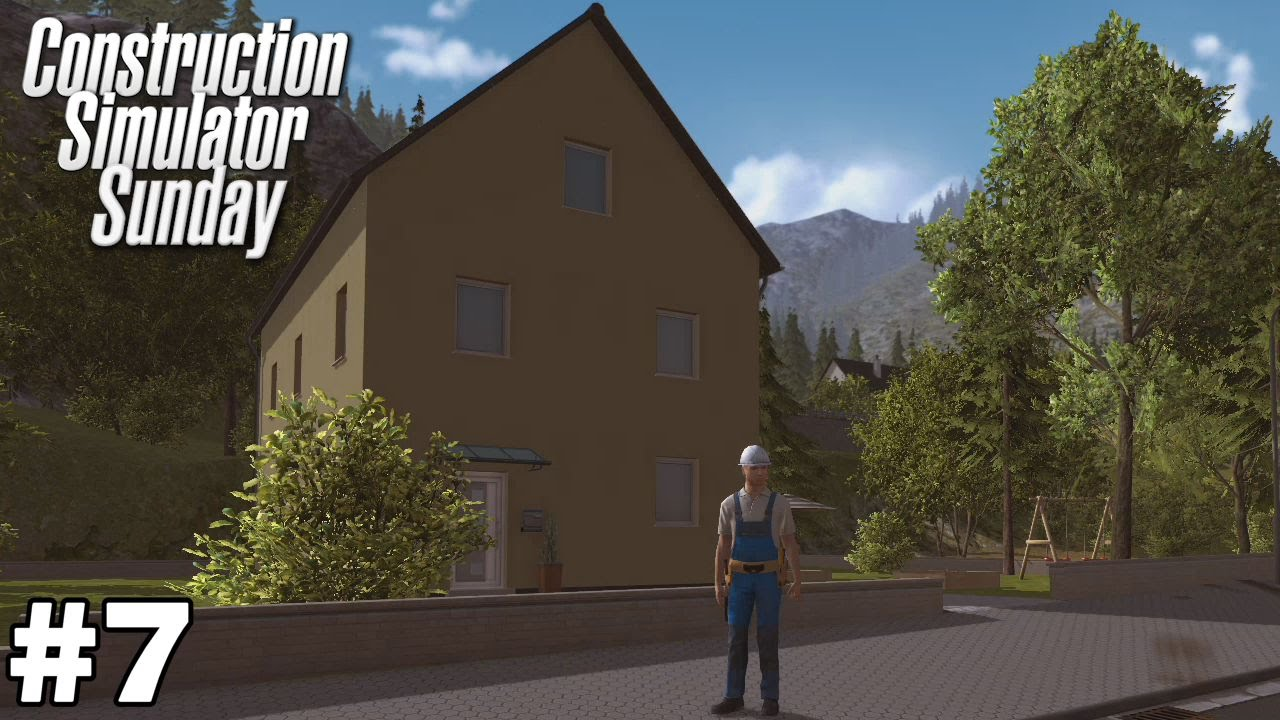 Roof Extension Single Family House Construction Simulator Sunday Ep7
