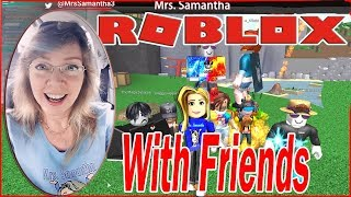 Roblox Cursed Islands Mrs. Samantha and Friends