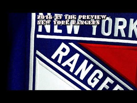 2018-19 New York Rangers Season Preview