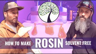 BuildASoil: HOME MADE ROSIN: Intro to Solvent Free Rosin and Bubble Hash // PEDRO'S GROW ROOM