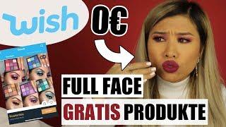 0€ Full Face mit GRATIS Produkten von WISH! l Kisu