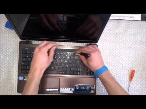 Asus k53s Smontaggio completo. Disassembly