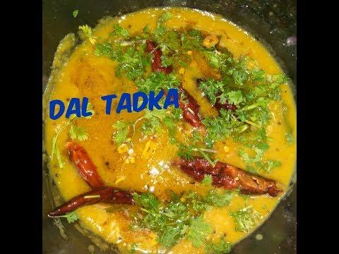 Dal tadka||Dhaba style punjabi dal fry||Easy to make at home