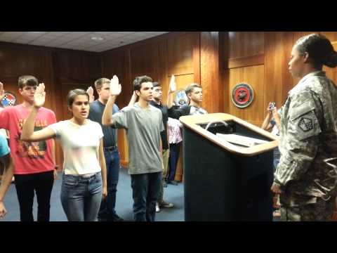 San Jose MEPS Navy Swearing In July 1 2015