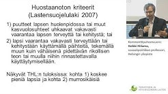 Kommenttipuheenvuoro: Heikki Hiilamo, sosiaalipolitiikan professori, Helsingin yliopisto