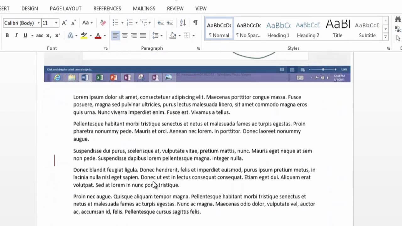 How To Annotate In Microsoft Word : Using Microsoft Word