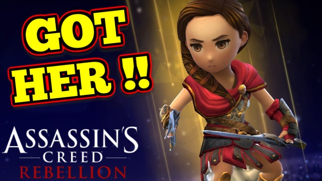 Odyssey S Kassandra Assassin S Creed Rebellion Youtube