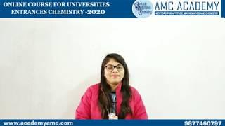 Introduction to online course for M Sc University Entrances