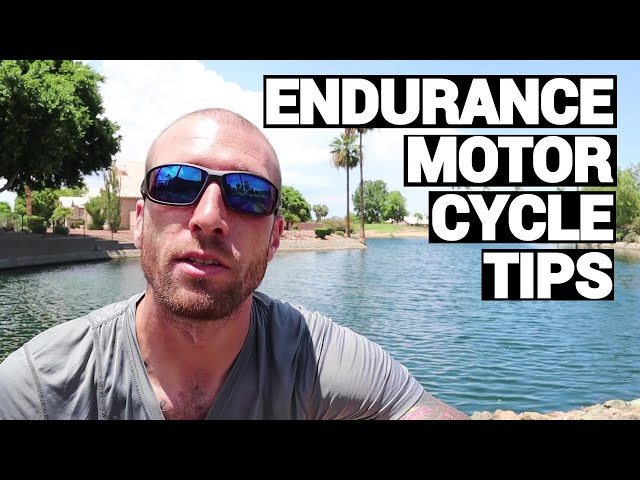 Long Distance Endurance Motorcycle Riding Tips For Iron Butt Association Rides and Contests