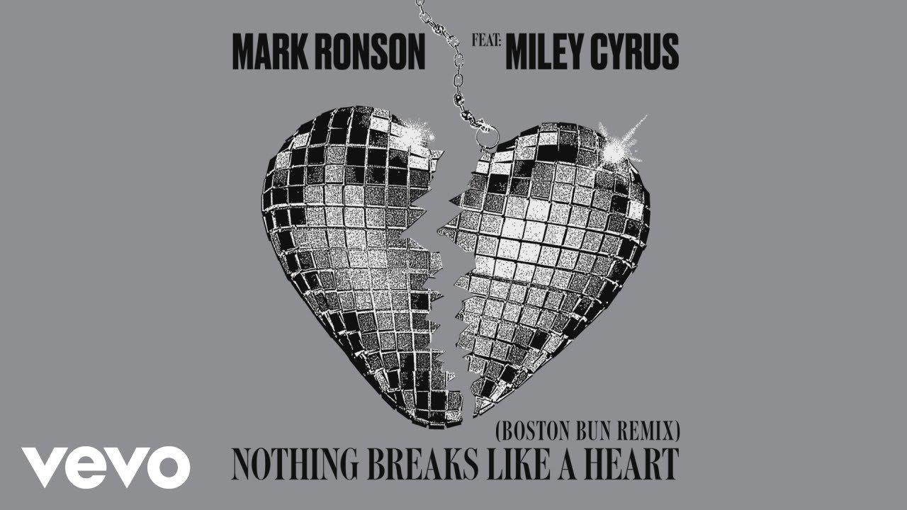 Mark Ronson - Nothing Breaks Like a Heart (Boston Bun Remix) [Audio] ft. Miley Cyrus image