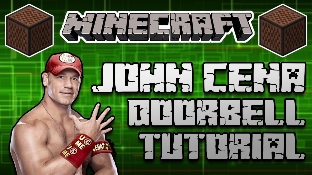 maxresdefault ♪ minecraft note block tutorial john cena theme song (the time is