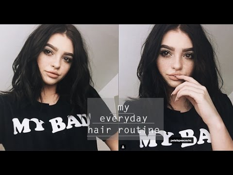 Thumbnail: My everyday hair routine! |2016