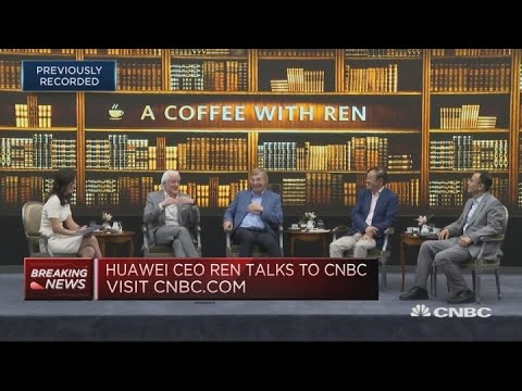 Huawei CEO: Considering licensing the company's 5G tech exclusively to a US firm | Squawk Box Europe