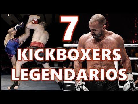 7 KICKBOXERS Letales 🥊 (LUCHADORES de Kickboxing, Muay Thai, Full Contact)