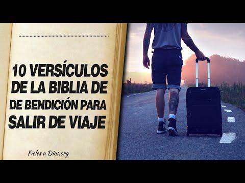 🙏 10 Versículos de la Biblia DE BENDICIÓN PARA SALIR DE VIAJE ¡Protégete! 📖