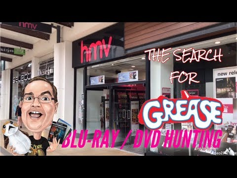 BLU-RAY / DVD HUNTING with Big Pauly (23/04/2018) - The Search for Grease!