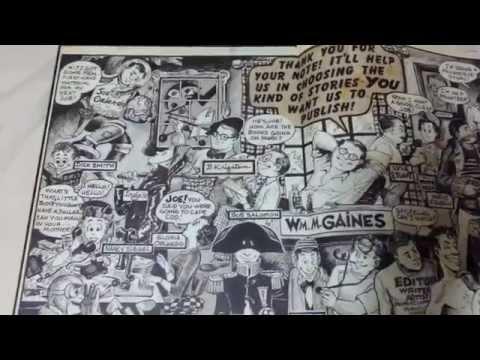 Quick Glance:  EC Comics Artist Edition