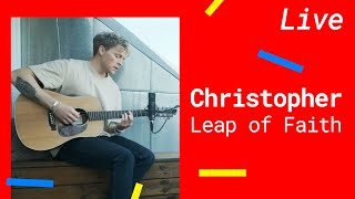 Cover images Christopher – Leap of Faith [Live 2020]
