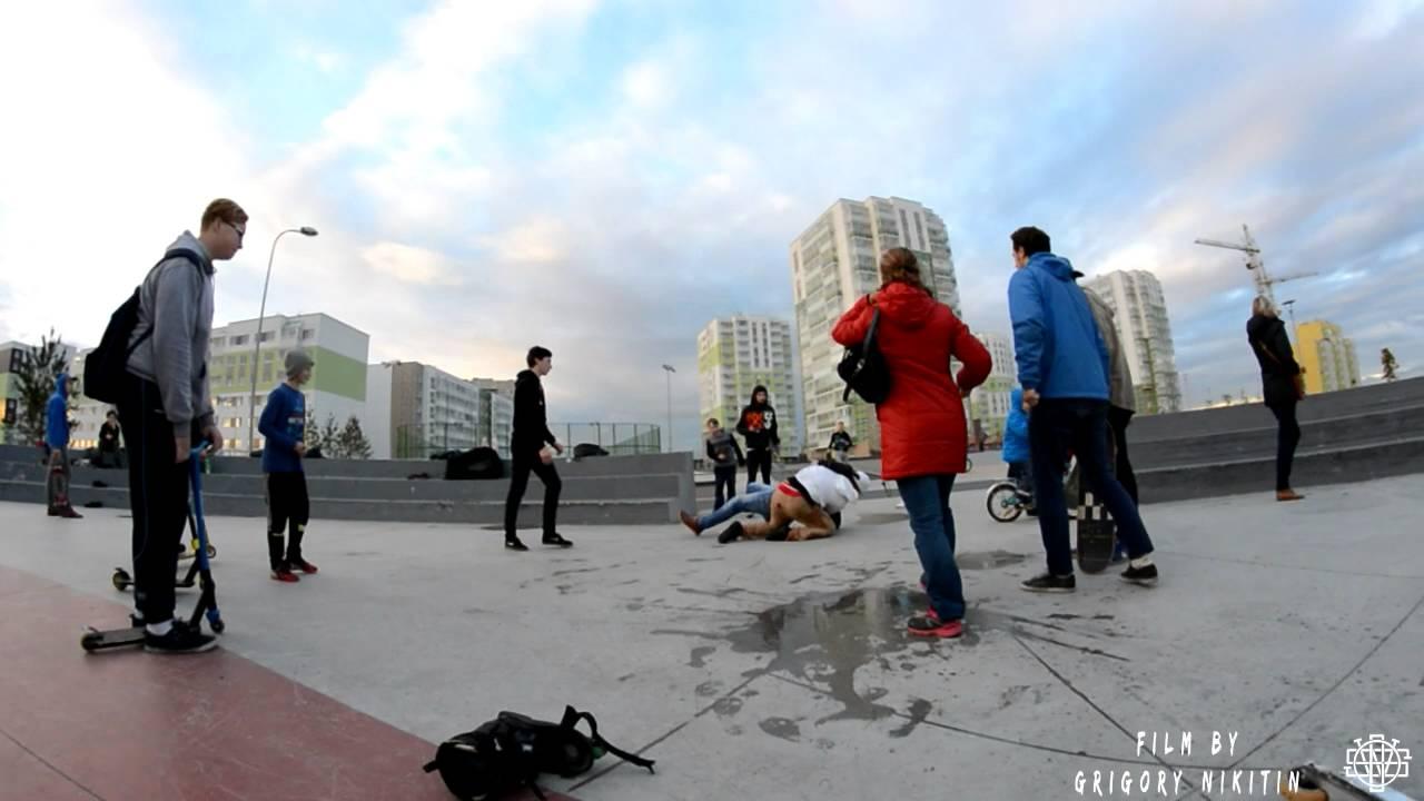 Пиздилки скинхеды против скейтеров