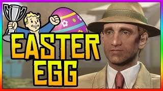 Fallout 4 Easter Eggs - Secret Vault Tec Mystery Man! (Fallout 4 Secrets)