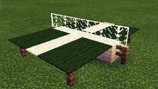 Minecraft Pe : COMO FAZER UMA MESA DE PING PONG !!! ?