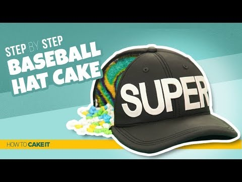 How To Make Baseball Hat CAKE | Step By Step | How To Cake It