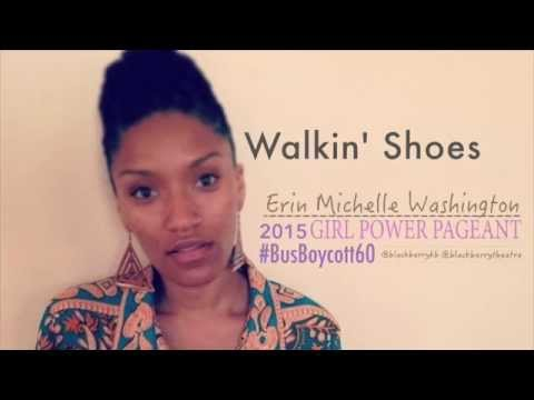 Walking Shoes: Erin Michelle Washington