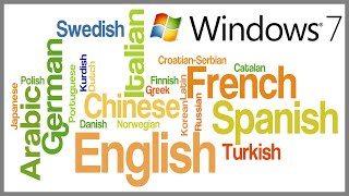 How to Change Language on Windows 7 any edition