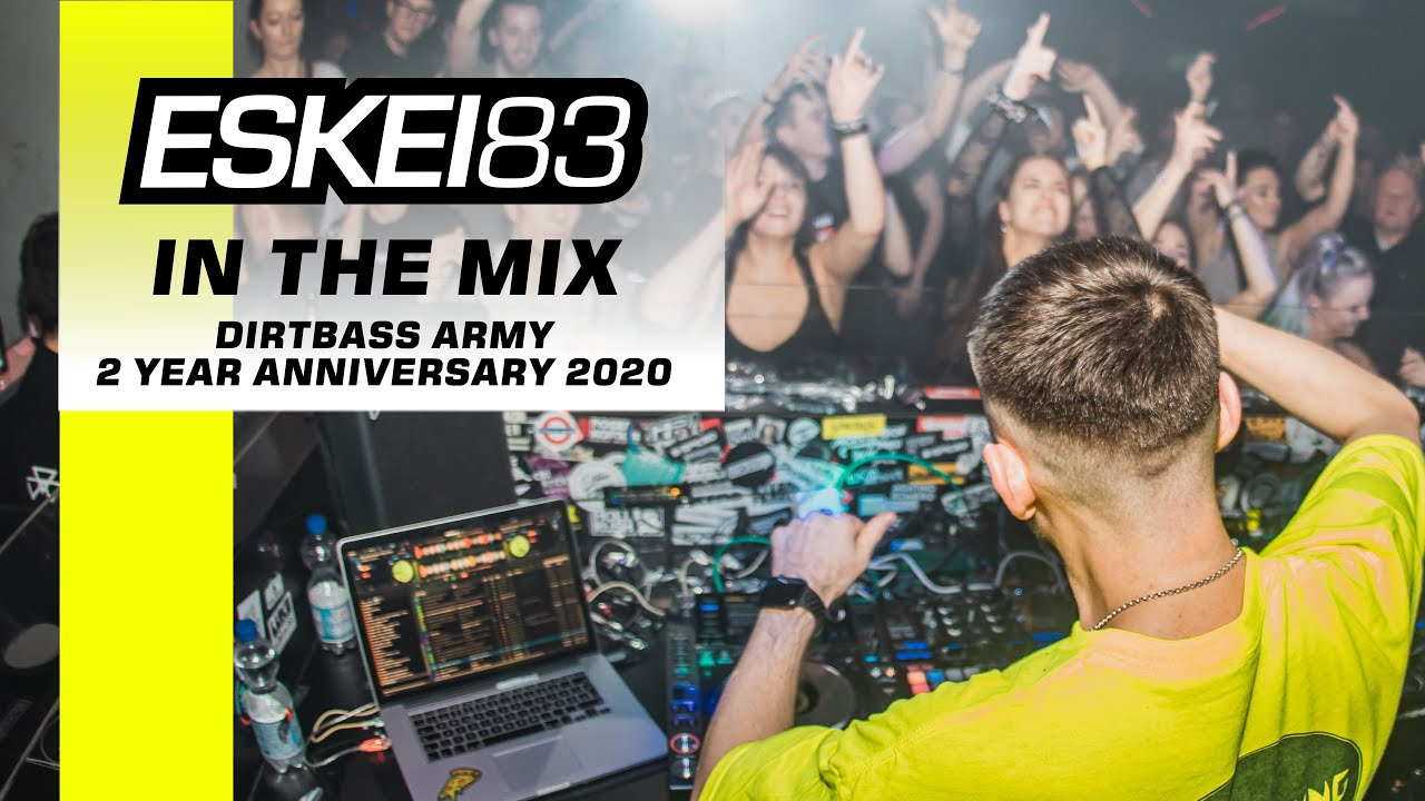 ESKEI83 - DIRTBASS ARMY JANUARY 2020 @ NFF BREMEN (LIVE DUBSTEP & FUTURE BASS DJ MIX)