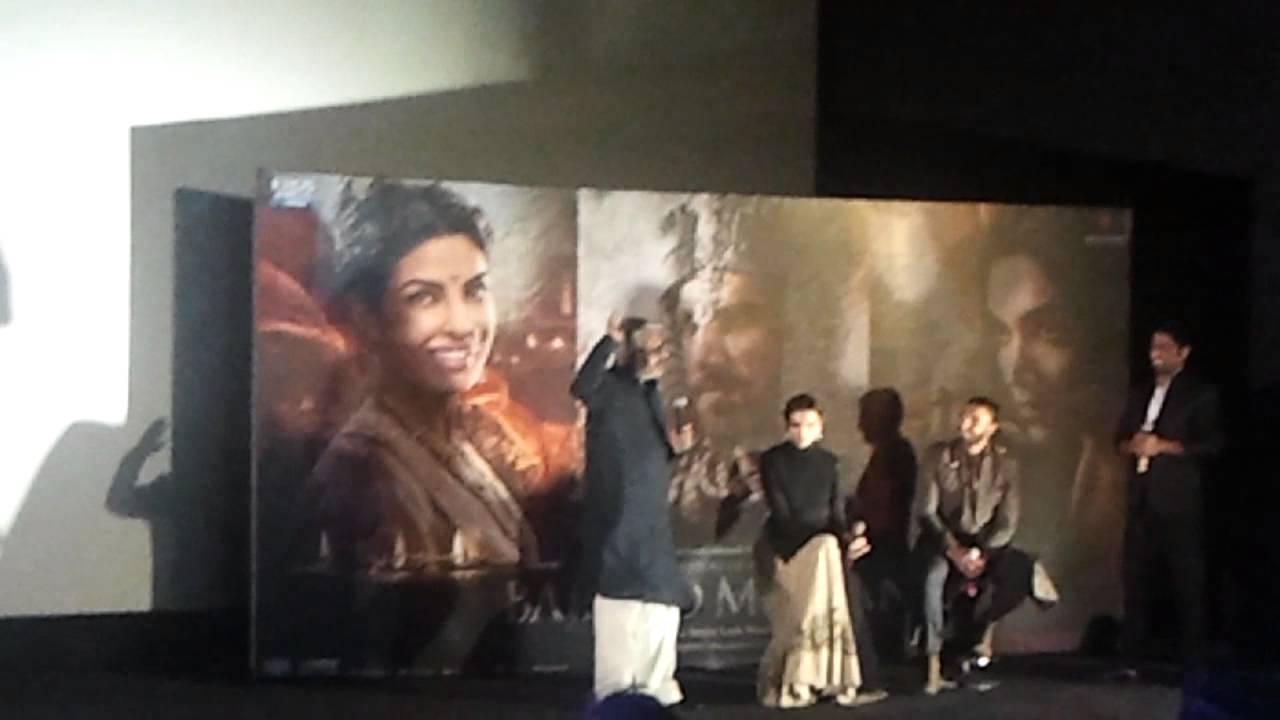 Download Bajirao Mastani Movie 2015 Trailer Launch With Ranveer Singh, Deepika Padukone, Priyanka Chopra