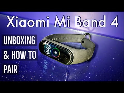Xiaomi Mi Band 4 Unboxing & How to Setup Pair With your Smartphone | Hindi
