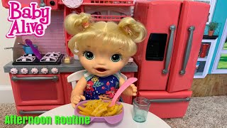 Baby Alive Afternoon Routine dinner