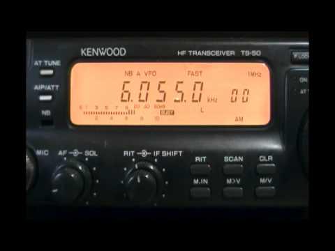 Radio Rwanda (Kigali, Rwanda) - 6055 kHz