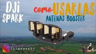 Como Usar Antena Booster En Dji Spark