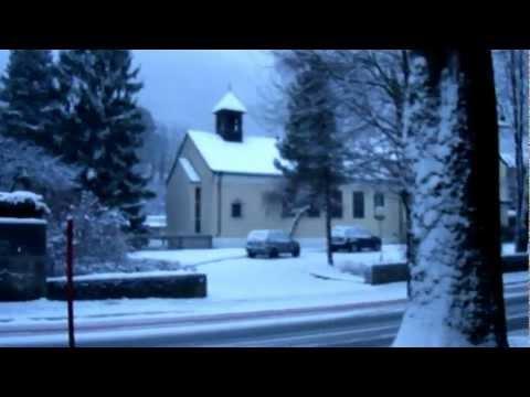 Kufstein, Austria under snow!